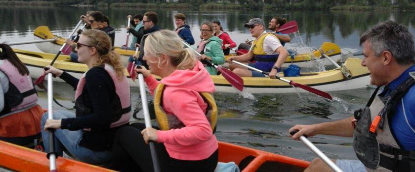 canoe canadesi, team activity - Lakes Lovers