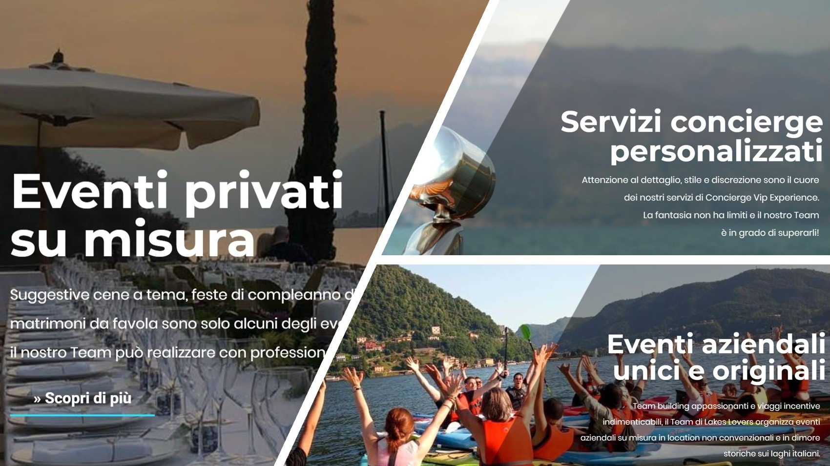Lakes Lovers nuovo sito internet